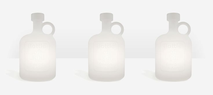 Bottle of Light by Studio Eero Aarnio