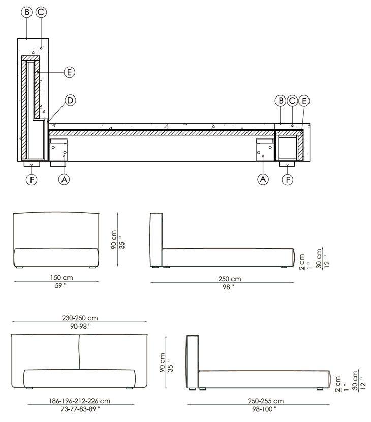 1000 ideas about medidas cama on pinterest medidas de - Medidas de cama individual ...