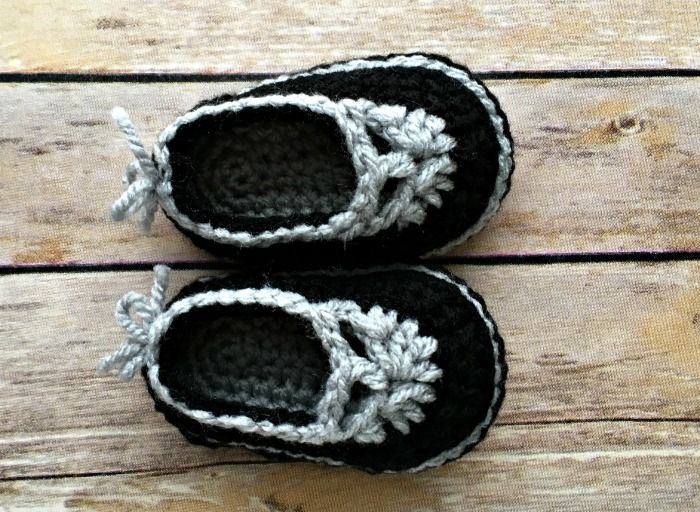 Free Crochet Pattern - Sweet Sophisticated Mary Janes