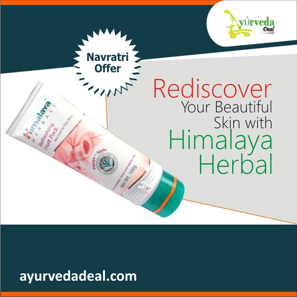‪#‎Navratrioffer‬  Rediscover Your Beautiful Skin with Himalaya Herbal.  Buy any Himalaya herbal skin care product # ayurvedadeal.com & save up to 12%
