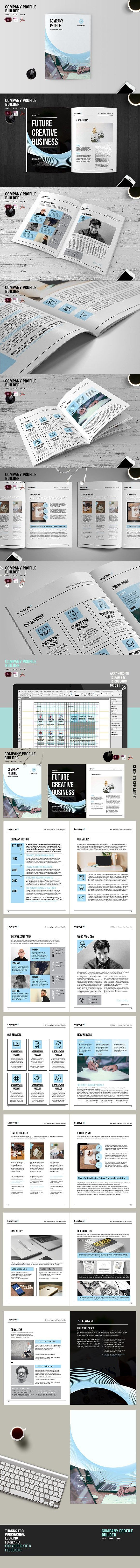 Company Profile Builder. Brochure Templates