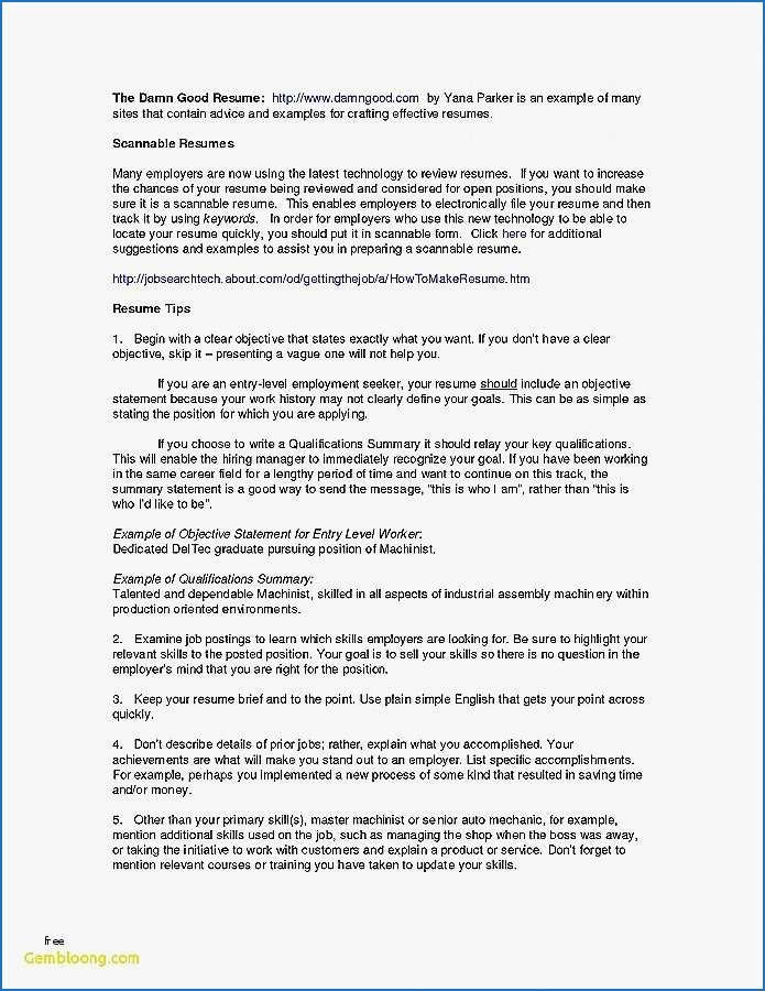 31 Resume Summary For Students Cover Letter Templates