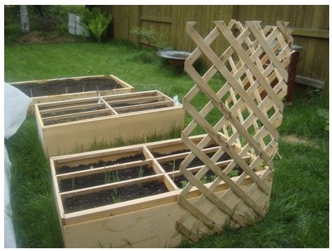 Turning an old dresser into a raised garden bed! - awesome idea, although my old dresser is pretty dern ugly. Don't know if I would even want it in my back yard! Paint could help though.