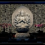 Temple bouddhiste de Bussy Saint-Georges par l'Atelier Rolland & Associés