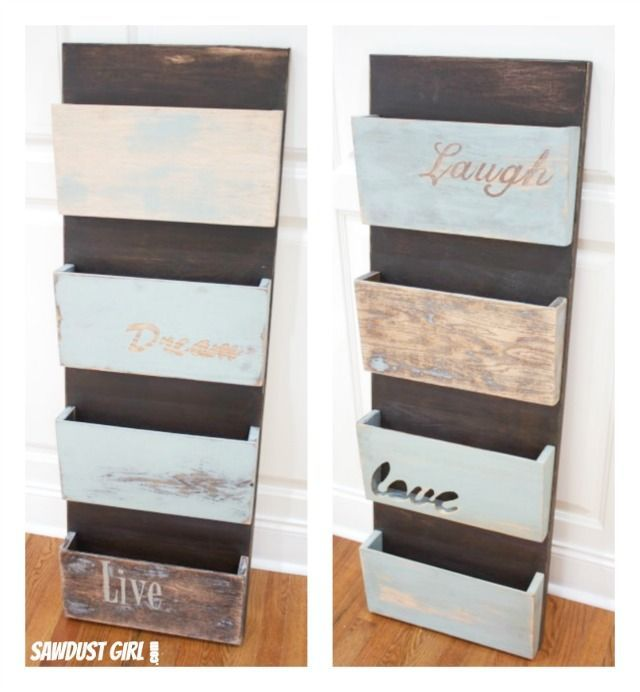 230 best diy images on pinterest woodworking good ideas and recycling diy hanging organizer solutioingenieria Choice Image