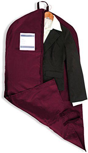 DDI 1922703 Garment Bag Maroon >>> See this great product.