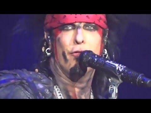 Motley Crue Final Show Nikki Sixx says Goodbye New Years Eve December 312015 | He did the same speech the night before! (I was there) So Awesome!