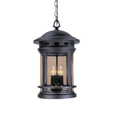 """View the Designers Fountain 2394-ORB 3 Light 11"""" Cast Aluminum Hanging Lantern from the Sedona Collection at LightingDirect.com."""