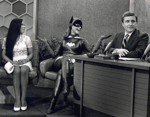 Batgirl on The Merv Griffin Show