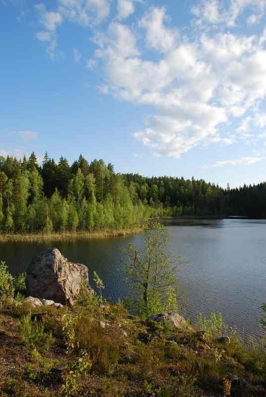 Karelia, which is often called a stony lake-and-forest land.There are more than 60 thousand lakes and 27 thousand rivers in Karelia.                                                       Karelia is not only the best place for fishing and watertours, but it also has a lot of unique architectural, cultural and historical objects on Kizhi and Valaam islands and on Solovetskie Islands, which are included in the UNESCO World Heritage List