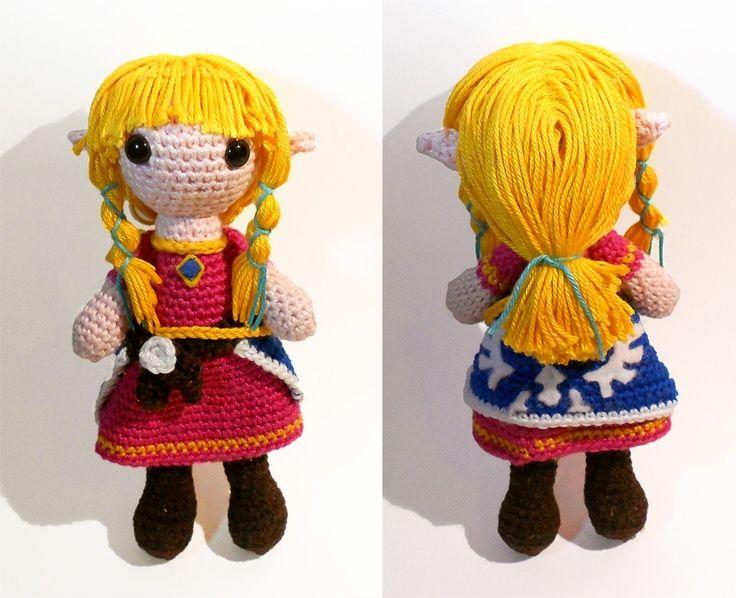 Zelda Amigurumi Doll : zelda. Crochet Amigurumi Dolls Pinterest Amigurumi ...