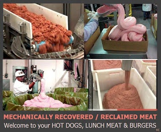 Mechanically Recovered Meat Hot Dogs