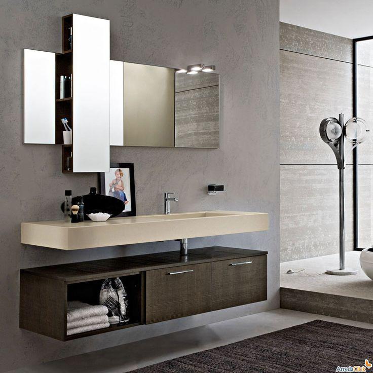 oltre 25 fantastiche idee su mobili da bagno sospesi su pinterest ... - Arredo Bagno Mobili Sospesi