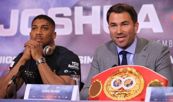 Anthony Joshua: Eddie Hearn reveals 2018 potential fight dates