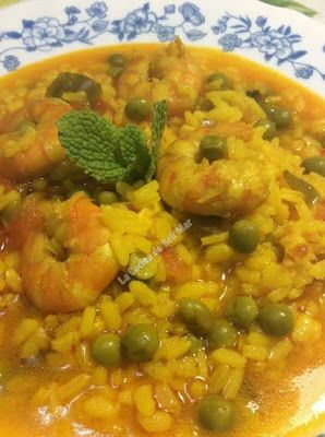 La Cocina de Beli Mar: ARROZ CALDOSO CON GAMBAS