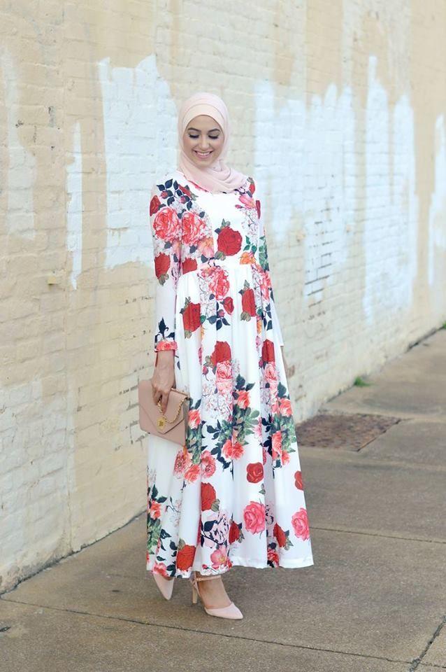 Abaya hijab robe longue 2016
