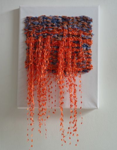 weaving... no source... but I love it so much! It looks like Autumn is spilling out of the weaving.