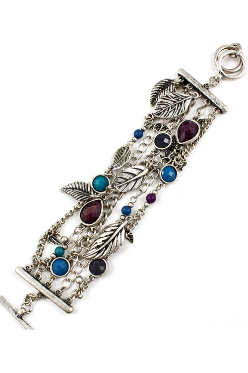 Madeline Bracelet with dangles and charms #tiffany tiffany jewelry outlet online
