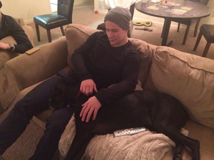 Washington Capitals: Michael Latta and Tyson Strachan's dog, Raja