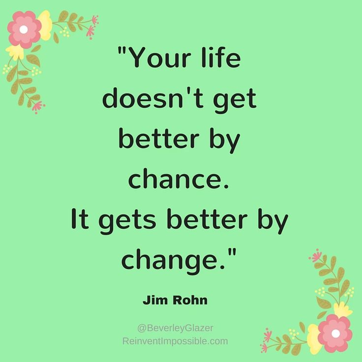 What's one thing you'd like to change? #reinventImpossible #empowerment #happiness