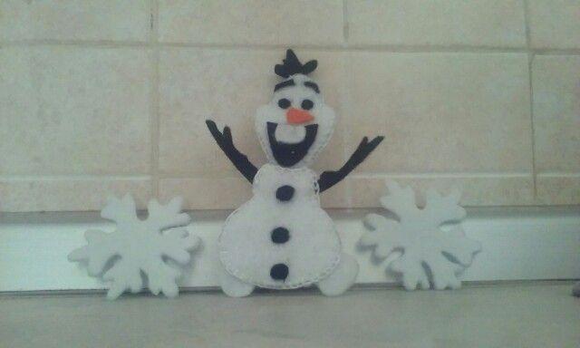 Olaf in feltro