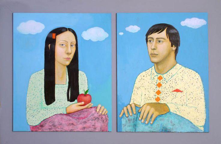 Eve & Adam, 130x85 cm, 2010