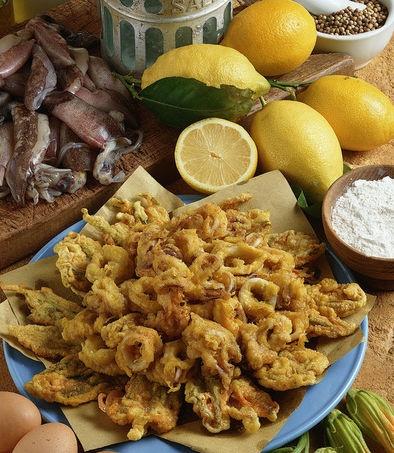 Festeggia il #Ferragosto anche a tavola, prova la frittura di #calamari e #totani