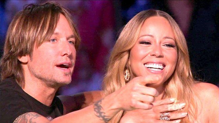 Keith Urban and Mariah Carey Photo - American Idol Season 12 Episode 30