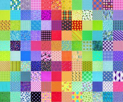 Quilt jigsaw puzzle - 480 pieces