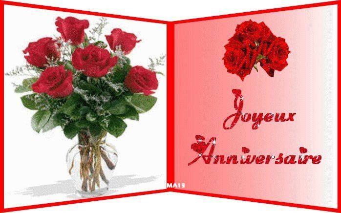 Une Jolie Carte D Anniversaire De Mariage Gratuite New Bouquet De