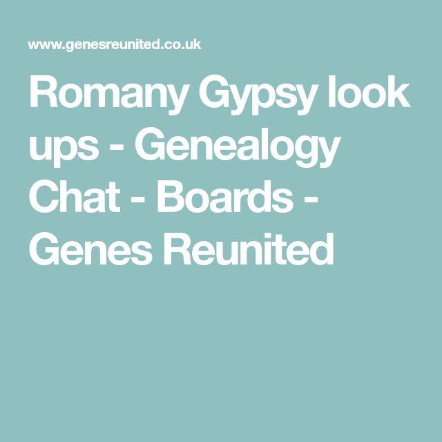 Romany Gypsy look ups - Genealogy Chat - Boards - Genes Reunited