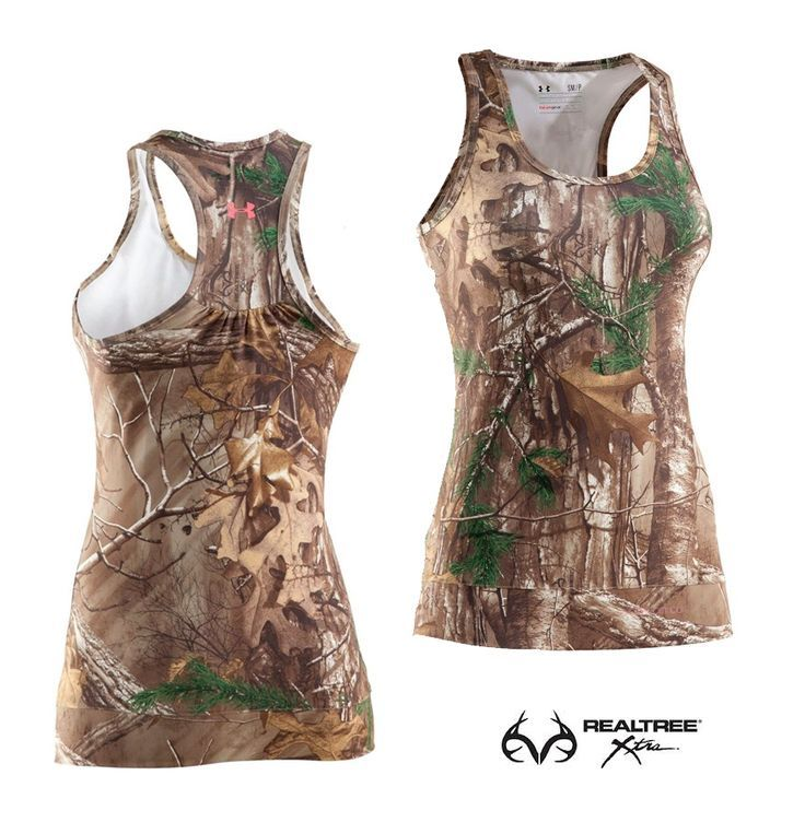 Under Armour Women's UA EVO Realtree Xtra Camo Tank Top