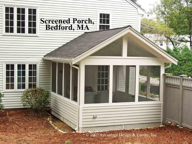 mesmerizing living room addition gable roof | Gable Roof 3 Season Porch | Archadeck Outdoor Living of ...