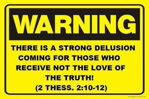 2 Thessalonians 2:9 This man will come to do the work of Satan with counterfeit power and signs and miracles. 10 He will use every kind of evil deception to fool those on their way to destruction, because they refuse to love and accept the truth that would save them. 11 So God will cause them to be greatly deceived, and they will believe these lies. 12 Then they will be condemned for enjoying evil rather than believing the truth.
