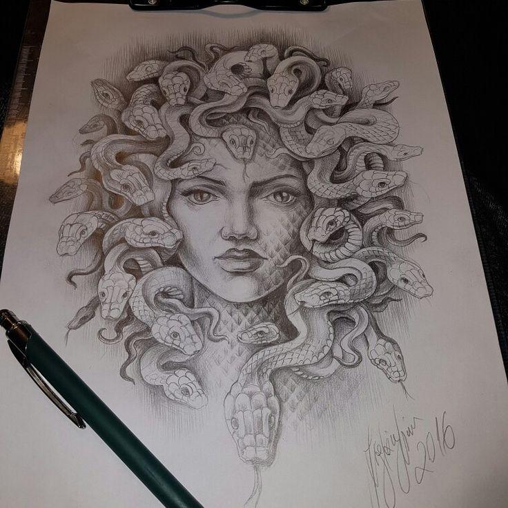 Snake/hair shape