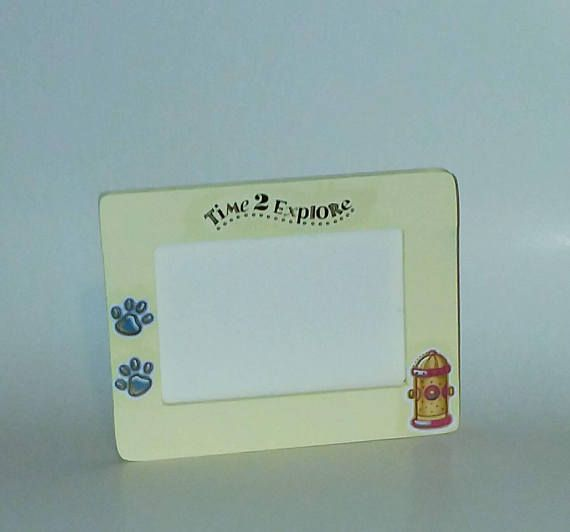Dog picture frame Check out this item in my Etsy shop https://www.etsy.com/listing/566365798/pet-picture-frame-dog-picture-frame #dog #pictureframe #petframe #giftidea #homedecor #handmade #etsyseller
