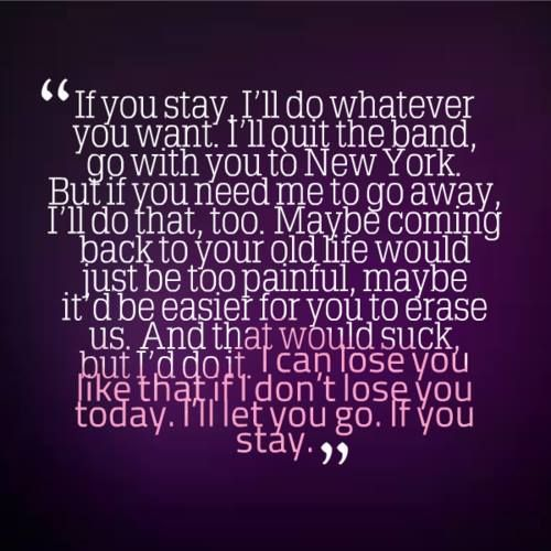 if i stay movie quotes - photo #19