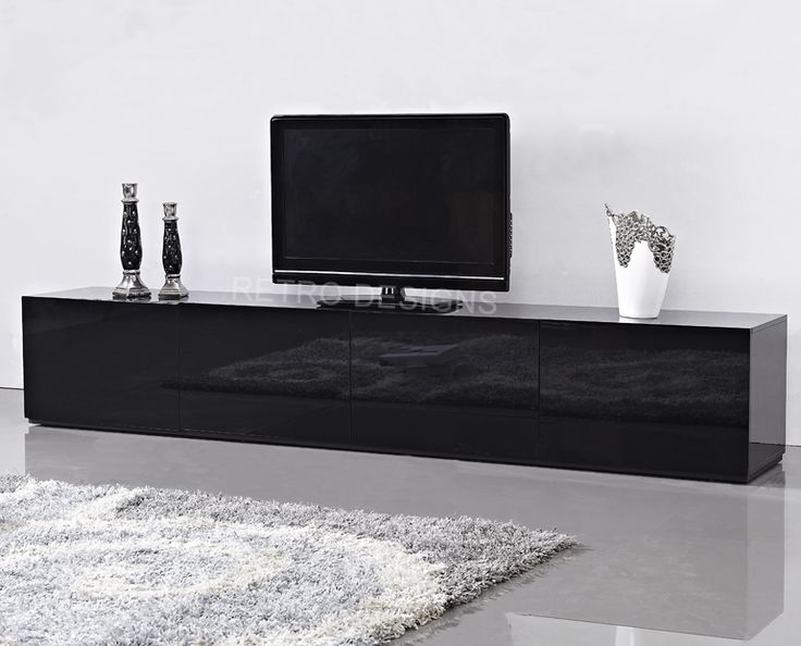High Gloss Black Suprilla TV Unit Only 749 Transform Your Living Room Today With The