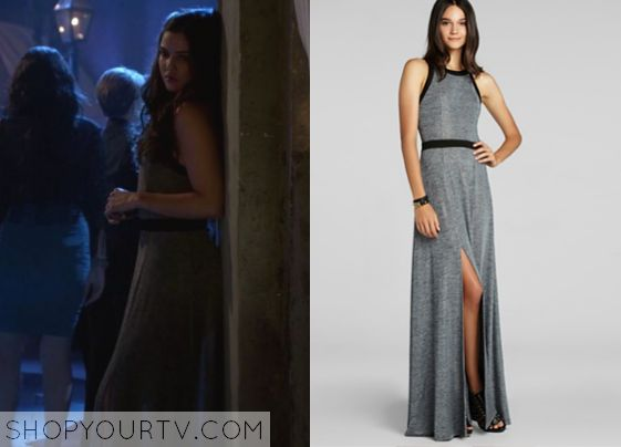 Davina Claire (Danielle Campbell) wears this solid banded maxi dress in this episode of The Originals. It is the BCBGeneration Back Cutout Maxi Dress. Buy it HERE for $65 All Outfits from The Originals Other Outfits from The Originals Season … Continue reading →