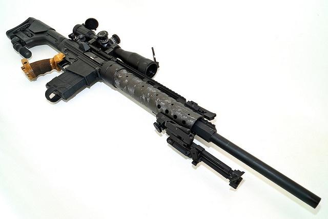 "DPMS LR-308 A3 flat top upper w/ forward assist 24"" 416 stainless match barrel black teflon finish PRI AR-10 GenIII Carbine Fiber Forearm, Rifle Length - for DPMS/KAC Magpul PRS stock Accushot BT13-QK monopod $100 Bobro Engineering bipod Type 2. DPMS walnut HK PSG-1 style grip . $61.95"