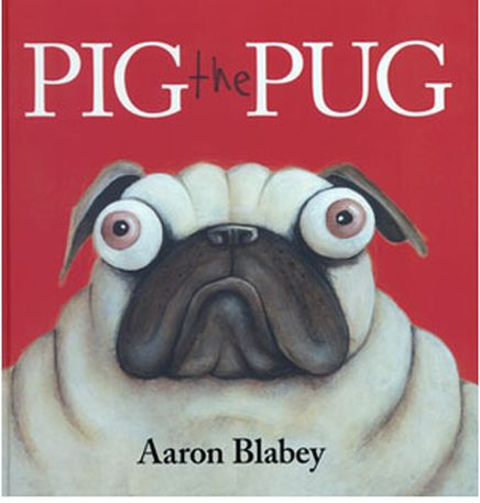 Author: Aaron Blabey Themes : Sharing, friendship Years: Australian Curriculum: English, Foundation to Year 2 NSW Early Stage 1 and Stage 1 From the publisher's synopsis: Pig is the greediest Pug...