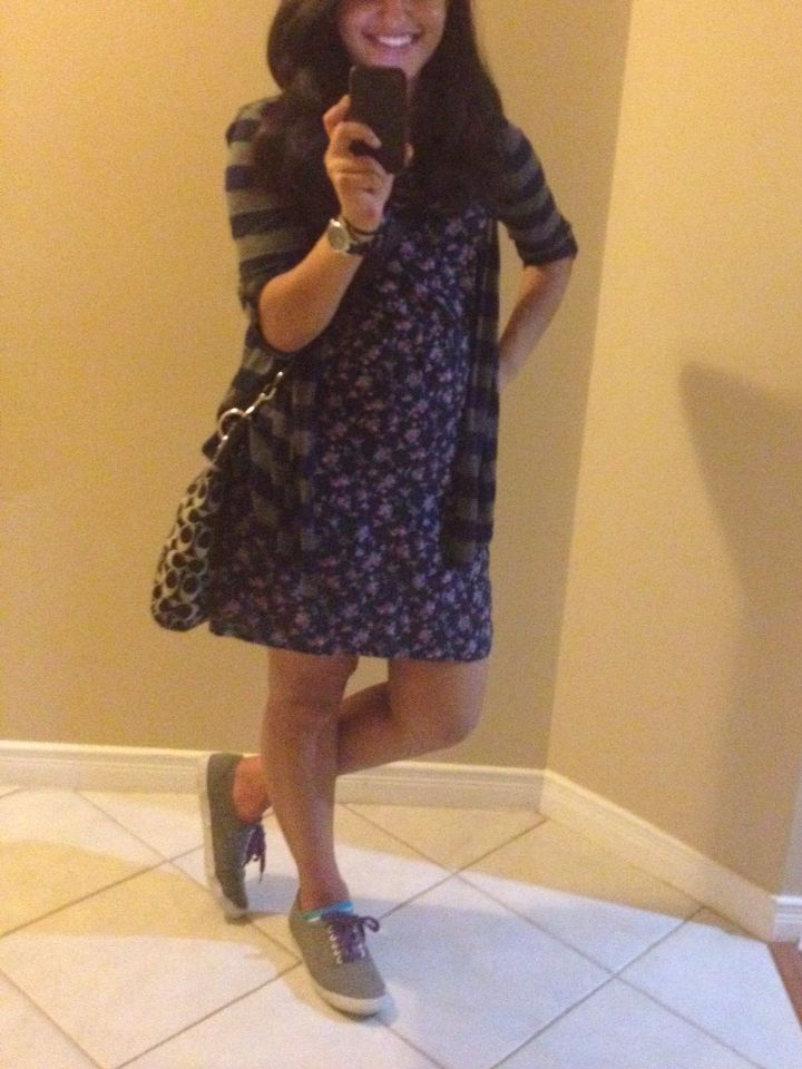 Summer dress with sneakers ☀️