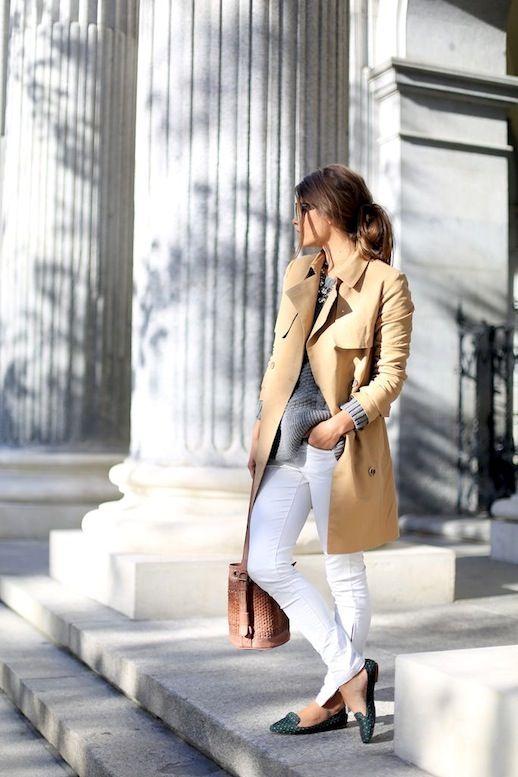 Acho que grande parte das mulheres adoram Calça Branca, não é verdade? Além de ser charmosa, deixa o look mais feminino, fugindo do jeans clássico! TI...