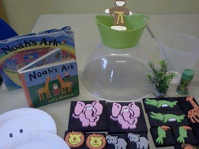 Flame: Creative Children's Ministry: Noah's ark story bag
