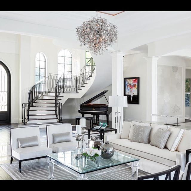 Luxury Apartments Interiors Luxury Living Room Decor: @mua_dasena1876 Movie Night 🎥 &qu...Instagram Photo