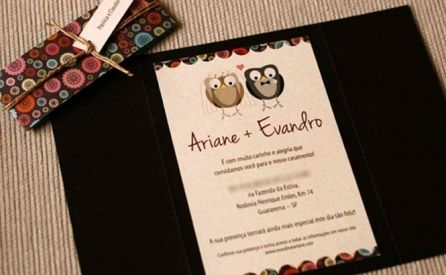 Fontes para Convites de Casamento