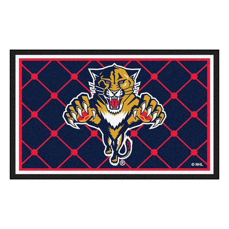 Florida Panthers NHL 4x6 Rug (46x72)