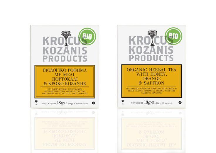 Bio Greek Herbal Tea with Honey Orange and Saffron 10 Teabags 18gr   eBay