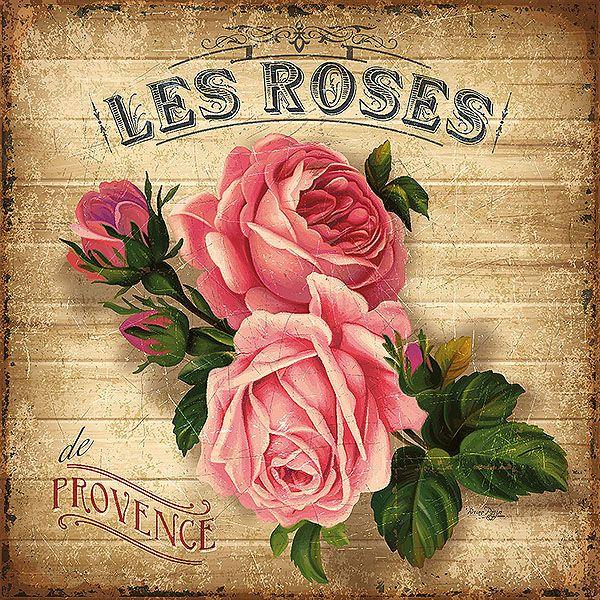Bruno Pozzo Vintage Les Roses De Provence