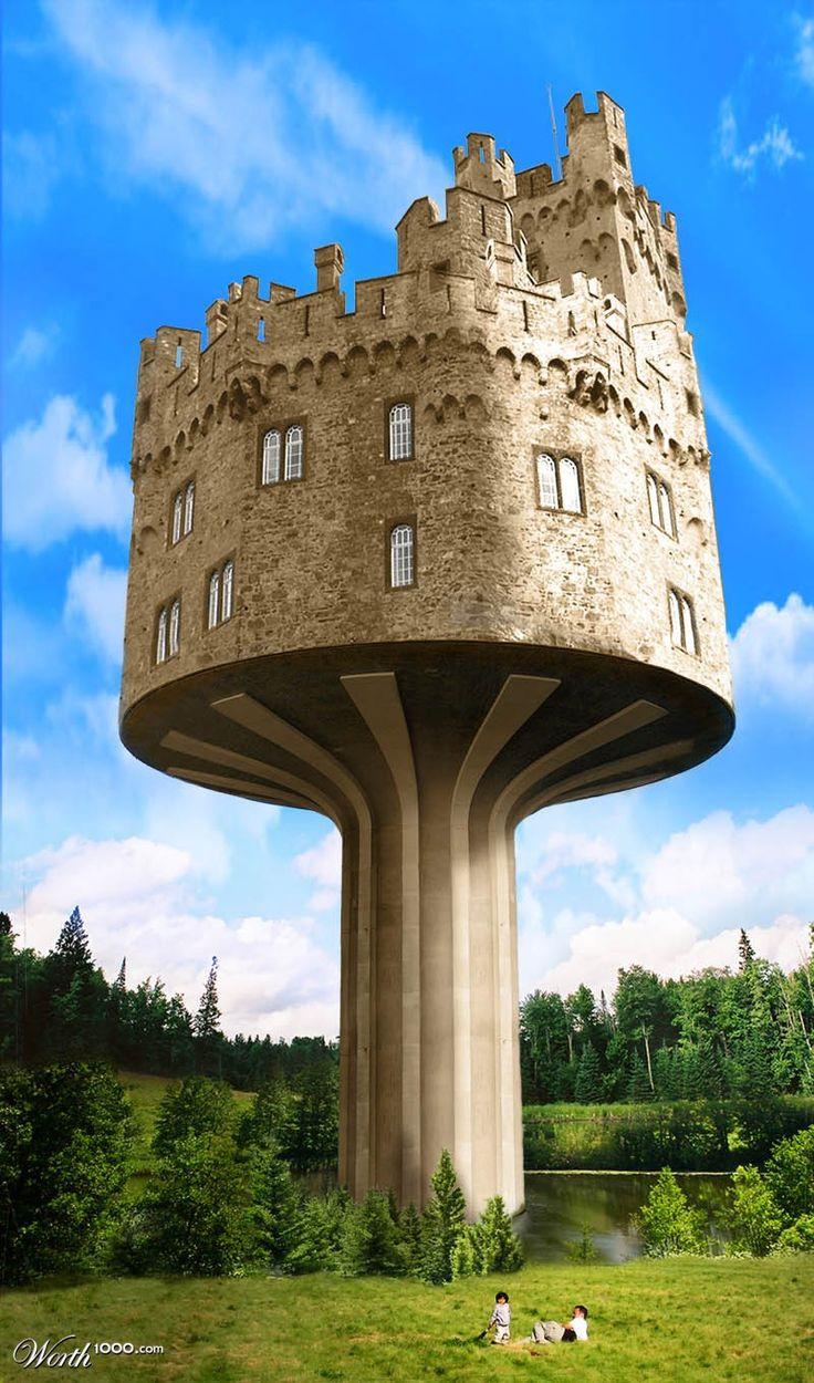 Castle of Urax...¿inspiración de Rapunzel? :)))